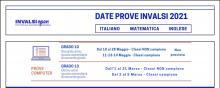 DATE PROVE INVALSI 2020/21